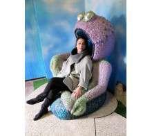 Akomonster armchair