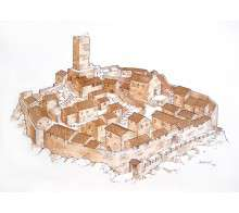 villaggio medievale