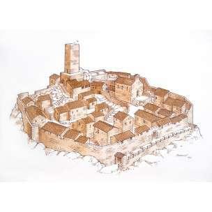 a - villaggio medievale